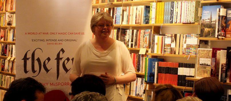 Cathy McSporran The Few Launch