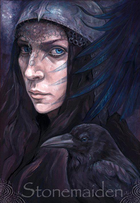The Morrigan - Julia Helen Jeffrey - Stonemaiden