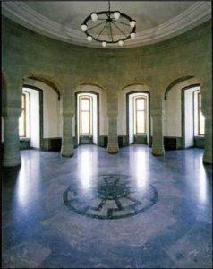 Wewelsburg castle hall of generals