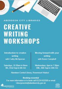 Aberdeen Creative Writing workshops
