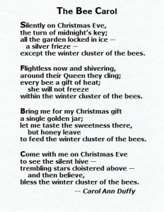 Carol Ann Duffy - Bee Carol 2