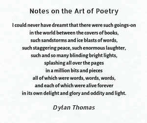Notes on the Art of Poetry 2
