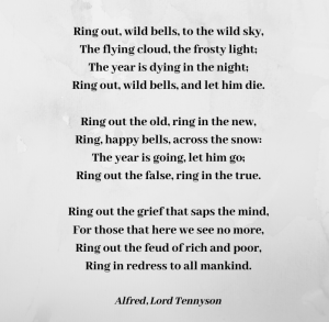 Ring out wild bells - Tennyson in Memoriam 4 (2)