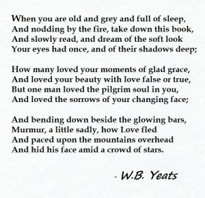 Yeats - when you are old 2019 (4)