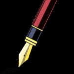 clip art - pen