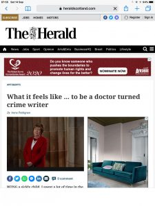 Anne Pettigrew - Herald 14 Sept 2019