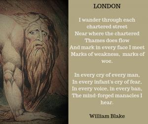 Blake - London poem 2