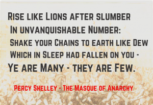 Masque of Anarchy - Rise like Lions 3
